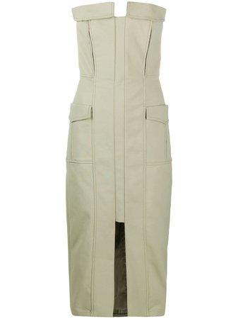 Dion Lee Pocket Bustier Dress - Farfetch