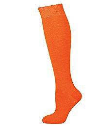 orange tube sock