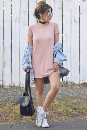 college dress ootd - Google Search