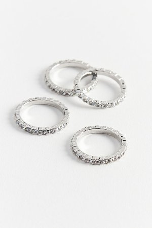 Delicate Stacking Ring Set | Urban Outfitters