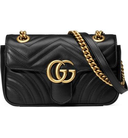 Gucci Mini GG 2.0 Matelassé Leather Shoulder Bag | Nordstrom