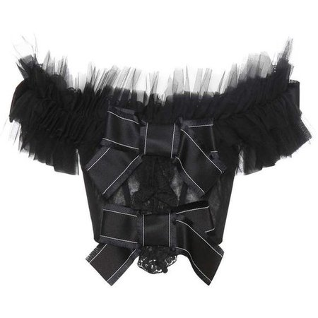 Dolce & Gabbana Embellished Off-the-Shoulder Tulle Top