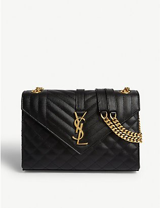 SAINT LAURENT -77 Kate medium leather shoulder bag | Selfridges.com