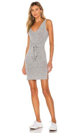 Lovers + Friends Bari Dress in Heather Grey   REVOLVE