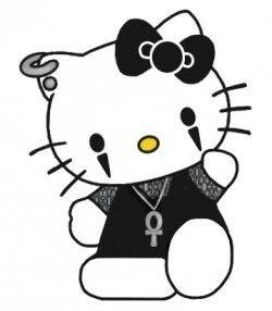 goth hello kitty - Google Search