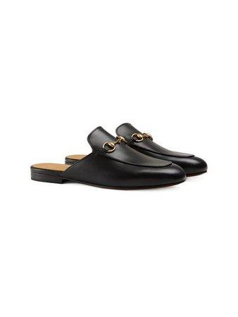Gucci Princetown Leather Slipper 423513BLM00 Black   Farfetch