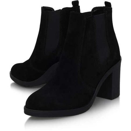 Sicily Black High Heel Ankle Boot By Kurt Geiger - Topshop