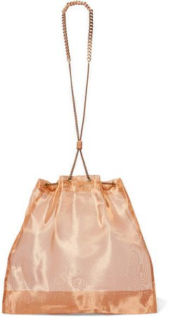 Balloon Mini Organza Pouch - Bronze