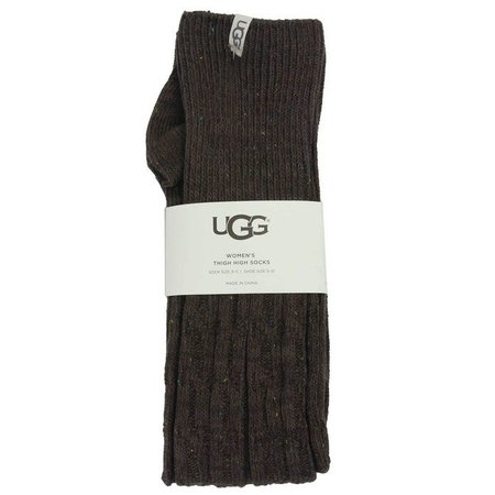 Ugg Women's Slouchy Speckle Thigh High Socks