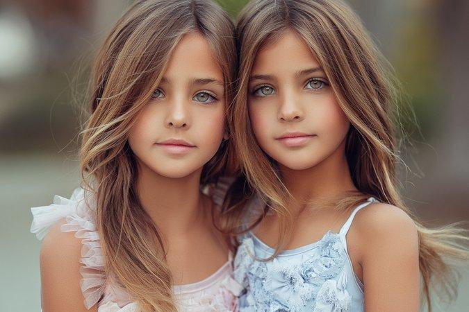 prettiest twins in the world
