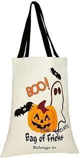 trick or treat pumpkin bag - Google Search