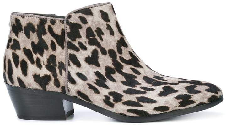 low chunky heel ankle boots