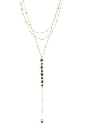 Ettika Triple Layer Y-Necklace | Nordstrom