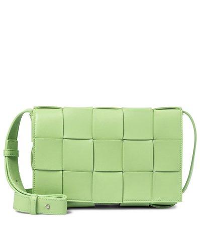 Cassette Leather Shoulder Bag | Bottega Veneta - Mytheresa