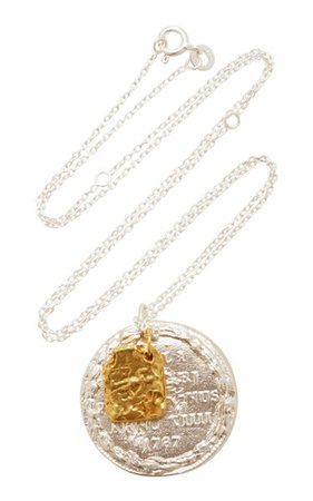 Silver And 24k Gold-Plated Necklace By Alighieri | Moda Operandi