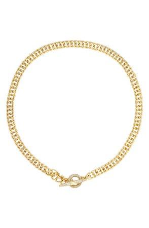 Ettika Crystal Toggle Necklace | Nordstrom