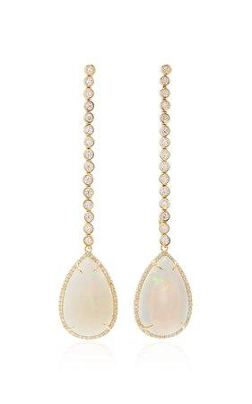 Opal and Diamond Kelly Earring by Octavia Elizabeth | Moda Operandi