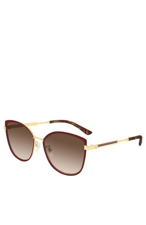 Gucci 57mm Gradient Cat Eye Sunglasses | Nordstrom