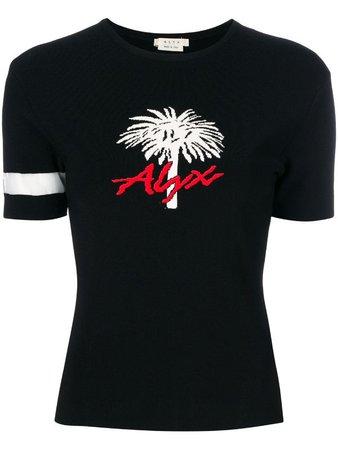 1017 ALYX 9SM palm three knitted T-shirt