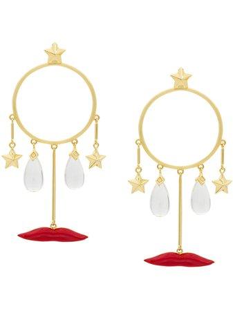 Eshvi Circle Drop Earrings - Farfetch
