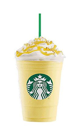 Lemon vanilla Starbucks