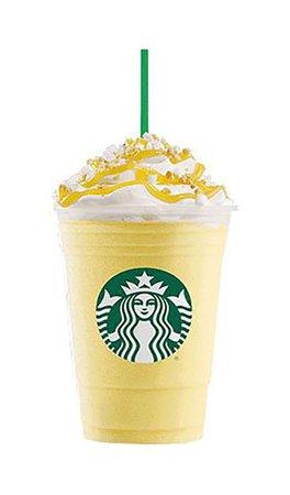 Lemon vanilla Starbucks