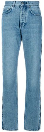 star patch slouchy jeans