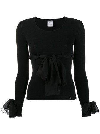 Chanel Pre-Owned 2004's Decorative Bows Blouse For Women   Farfetch.com