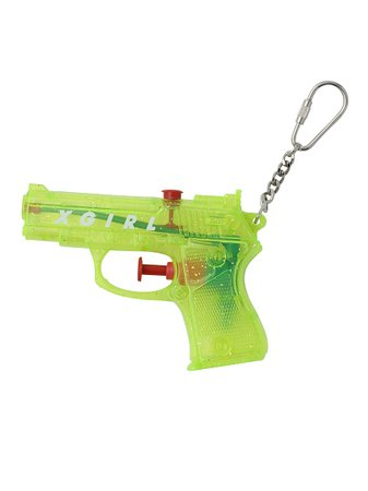WATER GUN KEY CHARM(ファッション雑貨/キーケース・キーホルダー)|X-girl(エックスガール)の通販|ファッションウォーカー