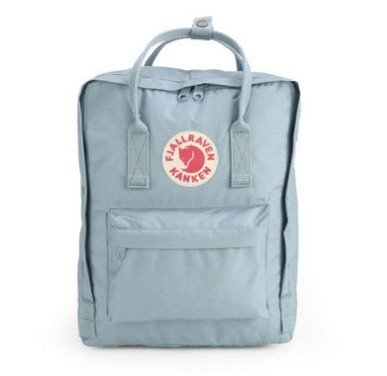 baby blue kanken bag