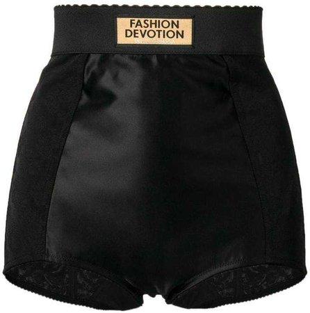 Dolce & Gabbana scalloped mini shorts