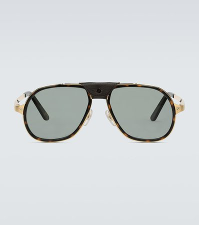 Cartier Eyewear Collection - Aviator-style sunglasses   Mytheresa