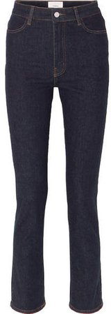 CASASOLA - Mid-rise Straight-leg Jeans - Blue
