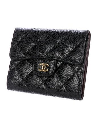 Chanel 2017 Quilted Compact Wallet - Accessories - CHA231216 | The RealReal