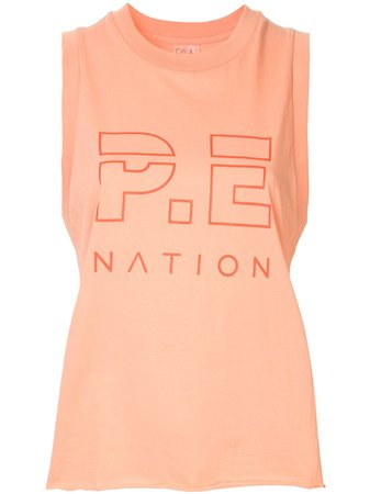 P.E Nation Shuffle tank top $90 - Shop AW19 Online - Fast Delivery, Price