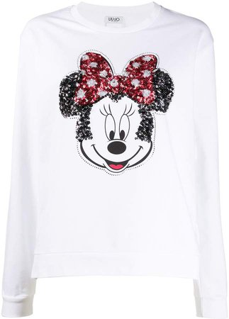 embellished Minnie Mouse T-shirt