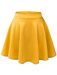 Yellow Skater Skirt
