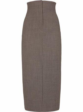 Fendi high-waisted Pencil Skirt - Farfetch