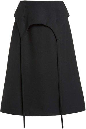 Sandy Liang Alper Knee Length Skirt