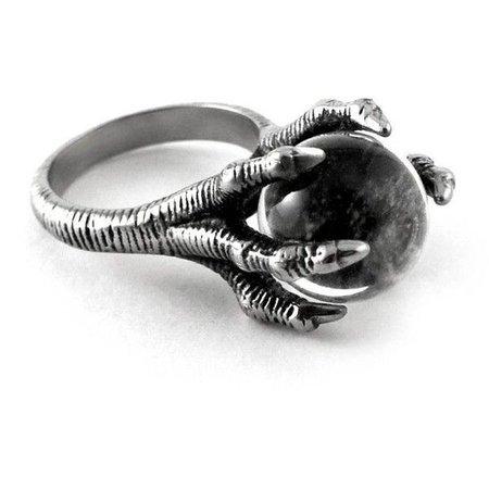 Dragon Claw Onyx Ring