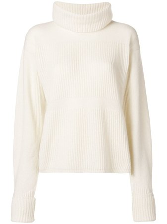 Andrea Ya'aqov ribbed turtle neck sweater £450 - Buy Online - Mobile Friendly, Fast Delivery