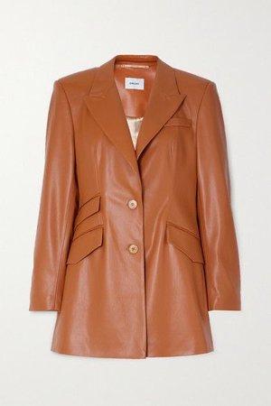 NANUSHKA - Cancun vegan leather blazer