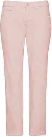 Petite Girlfriend Pink Cropped Jean
