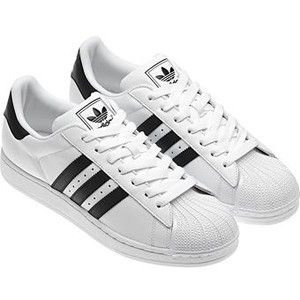 Adidas Superstar Lace-Up Leather Trainers