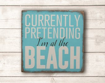 Beach Decor Beach Wood Sign Beach Wooden Signs Beach Decor
