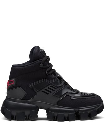 Shop black Prada Cloudbust Thunder sneakers with Afterpay - Farfetch Australia