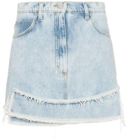 Natasha Zinko high-waisted denim mini skirt