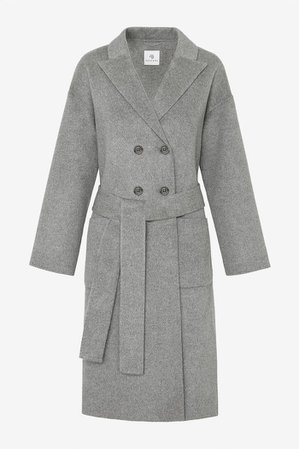 ANINE BING Dylan Coat - Grey