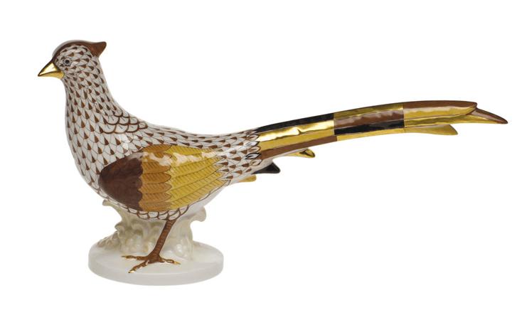 Herend pheasant facin left