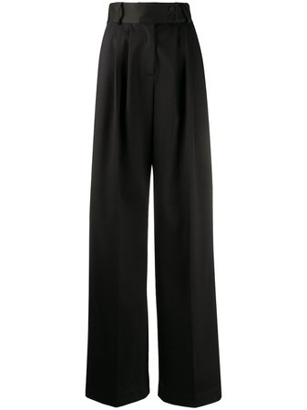 Styland Calça Pantalona De Algodão - Farfetch